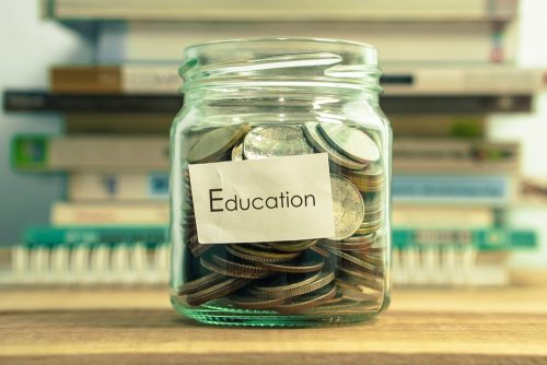 college savings jar