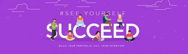 how to build a portfolio and interview well